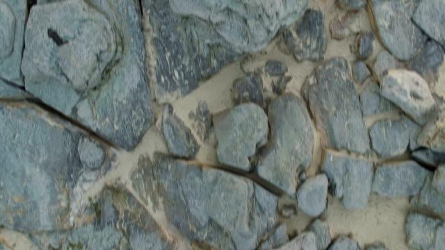 Luftaufnahme eines Naturdenkmals namens Steingräber – Video