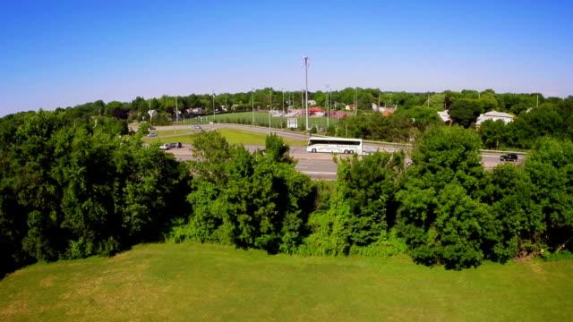 Aerial Reveal Highway video