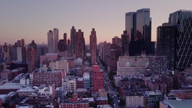 Aerial Shot Above Midtown Manhattan video