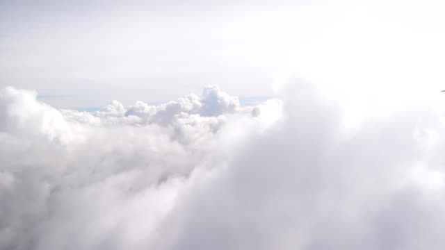 aerial shot above the clouds in 4k - lanuginoso video stock e b–roll