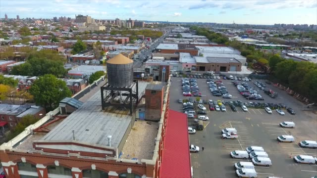 Aerial Shot of a Water Tower