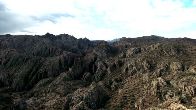 空中射擊的亞利桑那州山脊 - 池 個影片檔及 b 捲影像