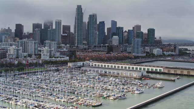 Aerial Shot of South Beach, San Francisco