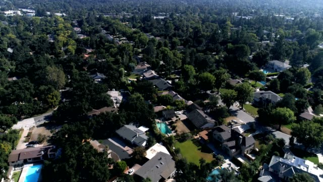 Aerial shot of Southern California Neighborhood video