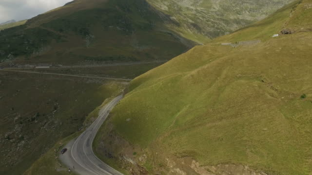 4K Aerial Shot Of Transfagarasan Road video