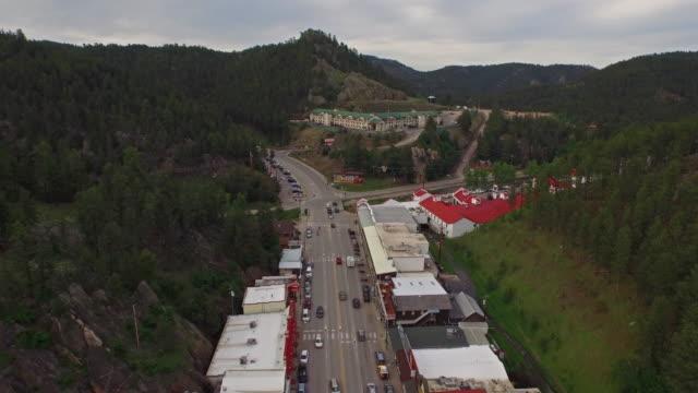 vídeos y material grabado en eventos de stock de antena south dakota del monte rushmore - mount rushmore