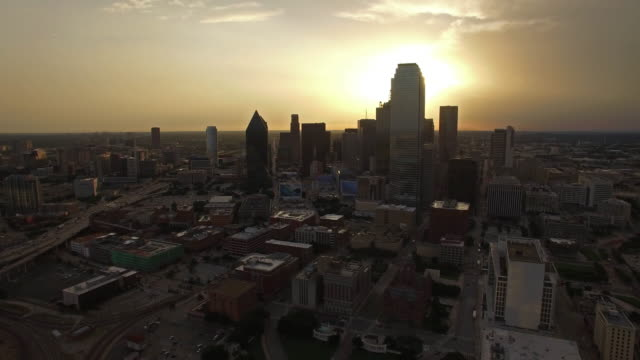 Aerial Texas Dallas video