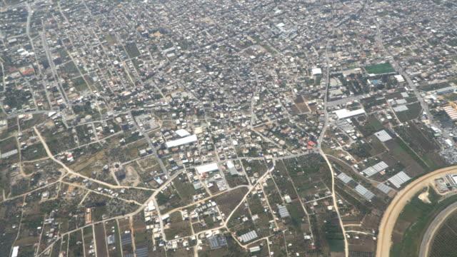 Top Luftbild von fortschrittlicher Stadt. Tel-Aviv. 16.04.2018 – Video