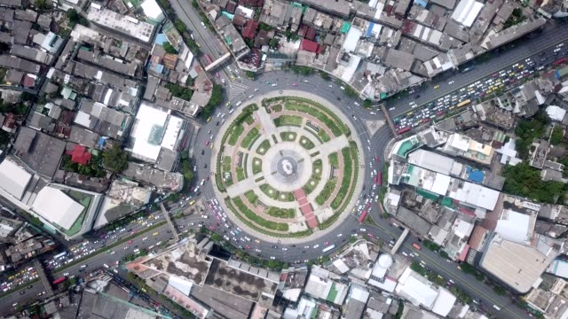 Aerial Traffic circle Aerial View, High Angle View, Circle, Road shanghai stock videos & royalty-free footage