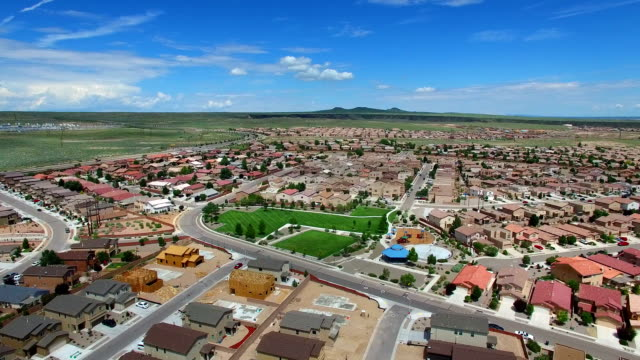 Aerial video Albuquerque New Mexico video