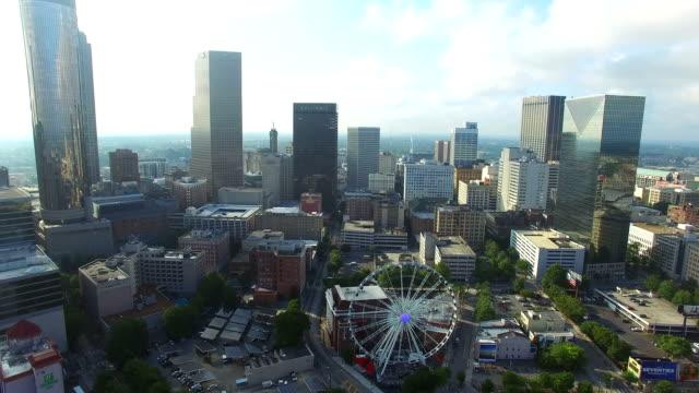 video aerea del centro di Atlanta (Georgia - video