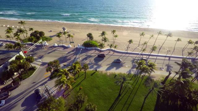 Aerial video Fort Lauderdale Beach video