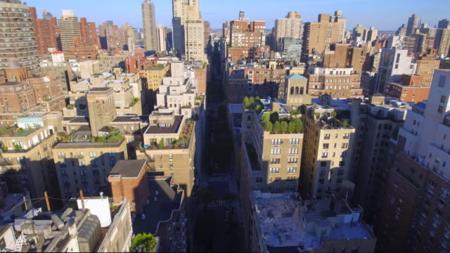 Aerial video Manhattan New York video