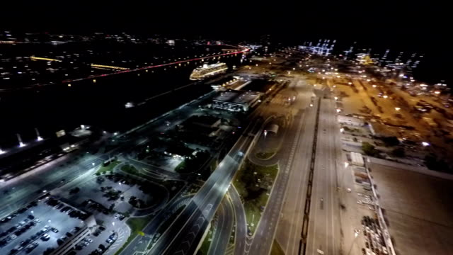 Aerial video Port of Miami video