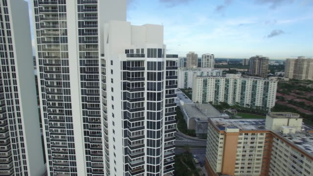 Aerial video Sunny Isles Beach Aerial video of highrise towers in Sunny Isles Beach FL dow jones industrial average stock videos & royalty-free footage