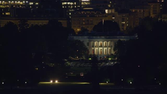 Washington Dc Night Aerial Stock Videos And Royalty Free Footage