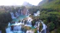 istock Aerial view Bangioc waterfall in cao bang province, Vietnam 953506218