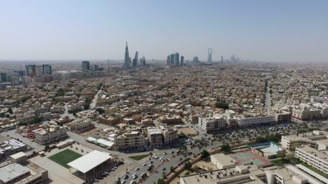 stockvideo's en b-roll-footage met luchtfoto voor de stad riyad - riyad