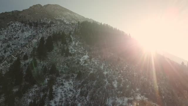 flygfoto-bergen - klippiga bergen bildbanksvideor och videomaterial från bakom kulisserna