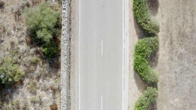 Luftaufnahme einer Straße – Video