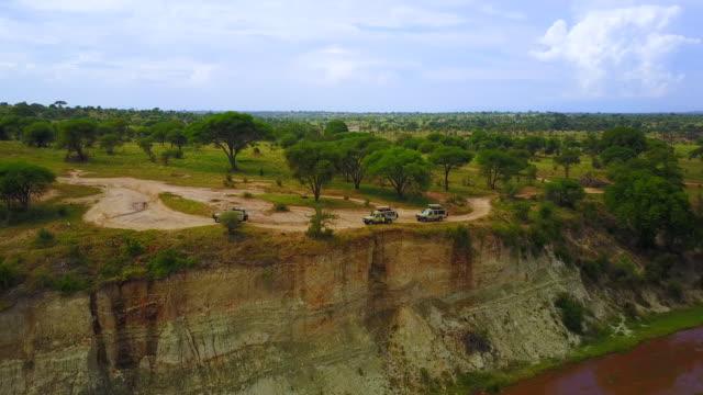 flygvy över en afrikansk grus väg omgiven av grön vegetation och natur. - morondava bildbanksvideor och videomaterial från bakom kulisserna