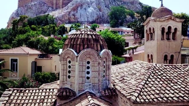 stockvideo's en b-roll-footage met luchtfoto van athene - griekenland - athens