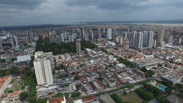 Aerial View of Belem do Para, Brazil video
