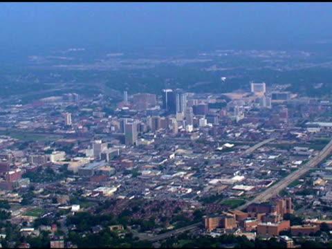 aerial view of birmingham - 描述 個影片檔及 b 捲影像