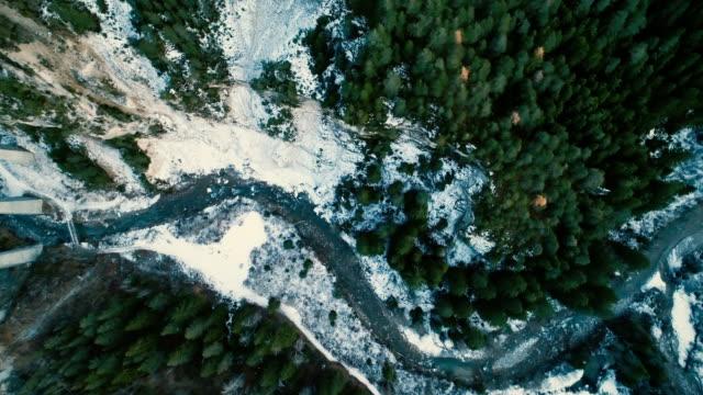 flygfoto över blå floden i bergen - miljö bildbanksvideor och videomaterial från bakom kulisserna
