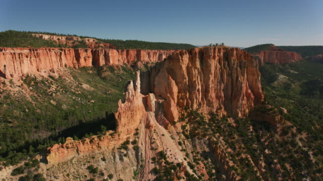 Aerial view of Bryce Canyon.