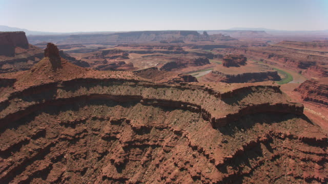 Aerial view of Canyonlands.