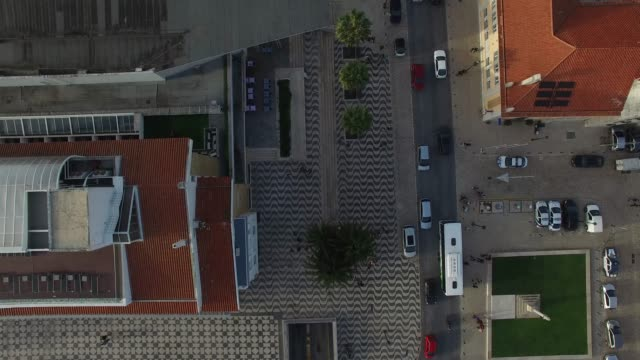 Aerial View of Cascais, Portugal video