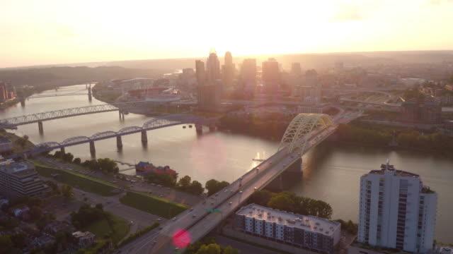 Aerial view of Cincinnati, Ohio
