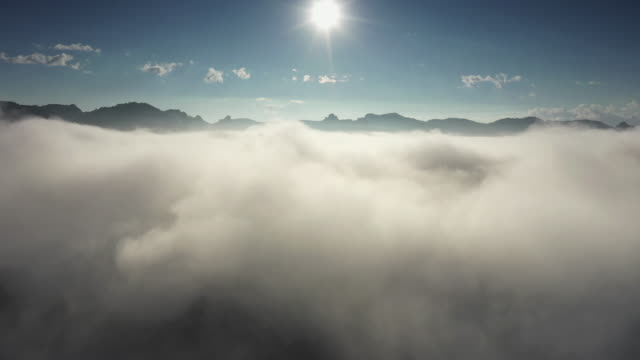 Aerial view of Cloudscape, cloud
