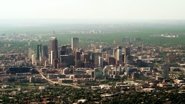 デンバーの航空写真 - コロラド州点の映像素材/bロール