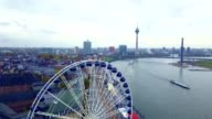 istock Aerial View of Dusseldorf - Germany 1085243754