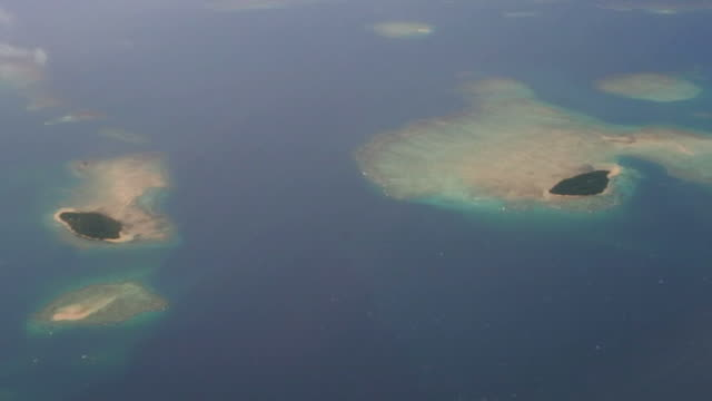 Aerial view of Fiji Islands video