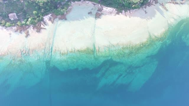 Aerial view of Garda lake, Italy.