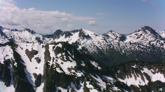 Aerial view of Glacier Peak.