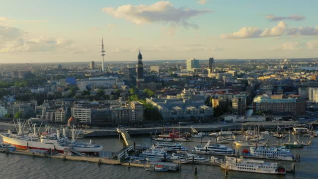 ハンブルク・ハーフェン市の航空写真 ビデオ