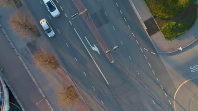 flygfoto över helsingfors. färgglada byggnader och tak. flyger över husen. helsingfors, finland. - drone helsinki bildbanksvideor och videomaterial från bakom kulisserna