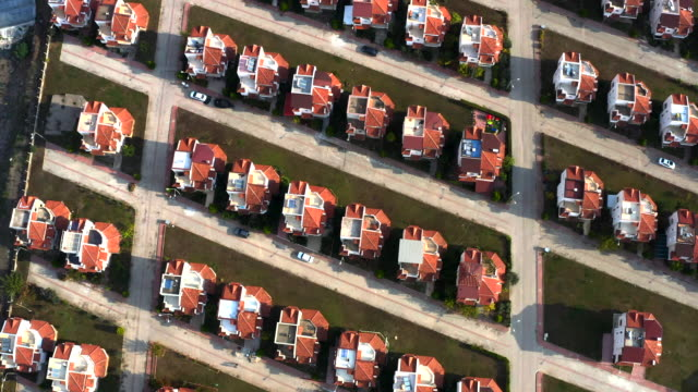 Aerial view of Housing Estates