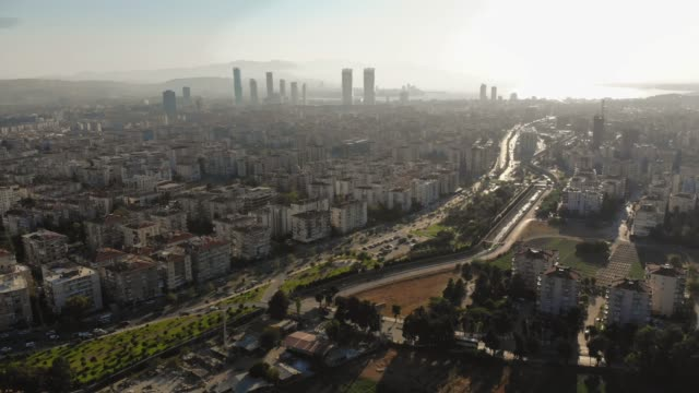 Aerial View of Izmir Aerial View of Izmir izmir stock videos & royalty-free footage