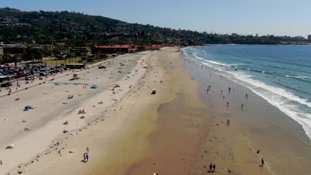 Aerial view of La Jolla coastline