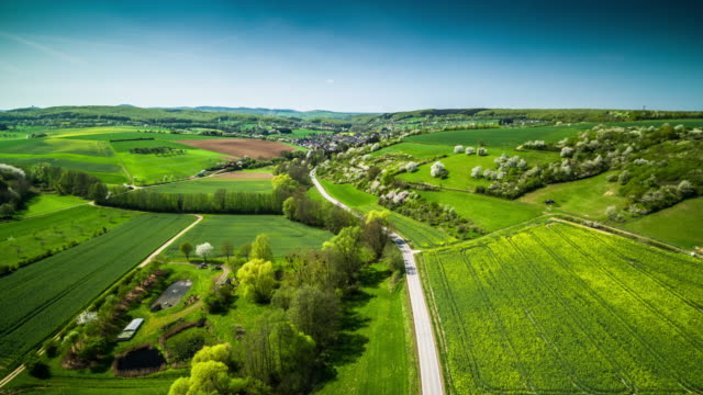 Aerial View Of Landscape in Germany