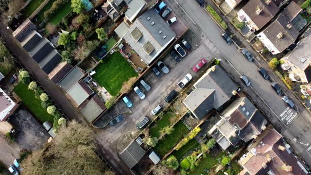 vídeos de stock, filmes e b-roll de vista aérea de londres, inglaterra, reino unido - sol nascente horizonte drone cidade