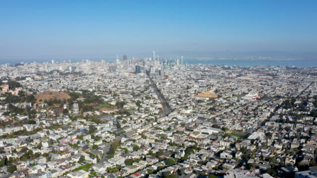 Aerial View of Majestic San Francisco Skyline
