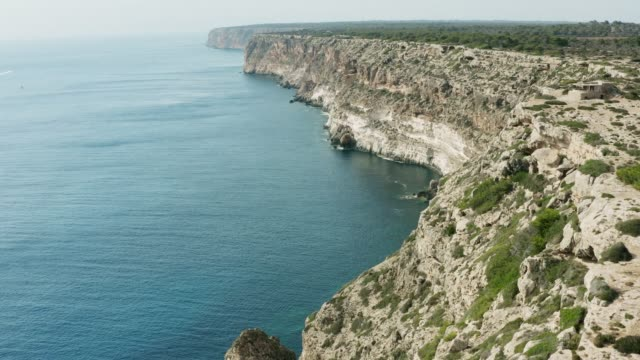 Luftaufnahme von Mallorca, Cap Blanc – Video