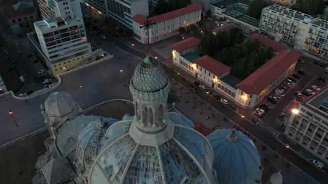 stockvideo's en b-roll-footage met luchtfoto van marseille stad van frankrijk - marseille