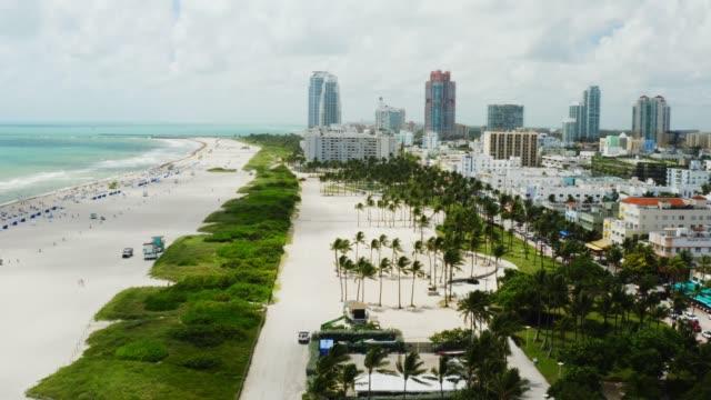 aerial view of Miami City, Miami Beach
